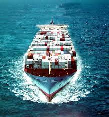 Encomenda Logística de transporte marítimo