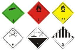 Encomenda Transporte de Mercadorias Perigosas