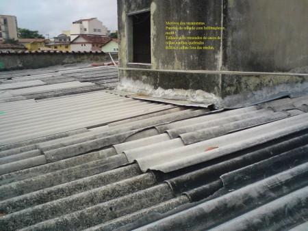 Encomenda Telhado Reformas - Motivos dos vazamentos