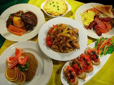 Encomenda Cozinhar pratos laterais