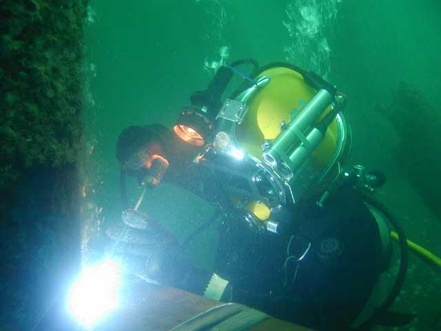 Encomenda Proteção contra a corrosão de metais subaquático