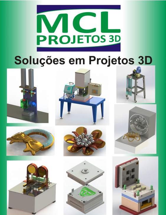 Encomenda Projetos 3D