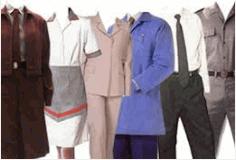 Encomenda Uniformes roupas