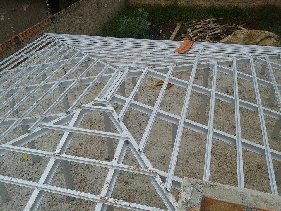 Encomenda Estrutura para Telhado em Aço Galvanizado