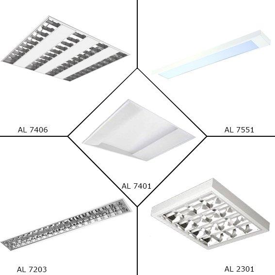 Encomenda Fluorescentes para lâmpadas convencionais e LEDS - AJALUMI