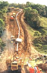 Encomenda Construção de oleodutos e gasodutos