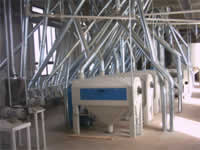 Encomenda Automação de Indústria de Beneficiamento de Trigo