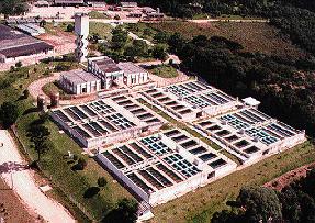Encomenda Tratamento e distribuição de água