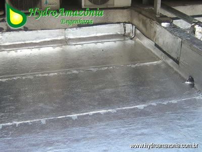 Encomenda Impermeabilização de paredes e telhados