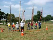 Encomenda Educação e formação de eletricistas