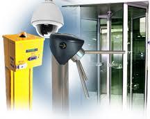 Encomenda Controle de acesso de segurança