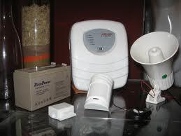 Encomenda Alarmes comerciais e residenciais