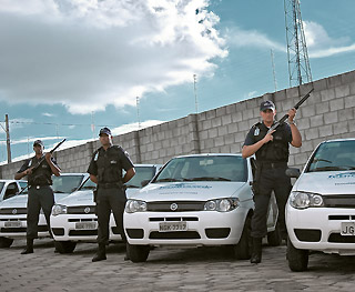 Encomenda Seguranca e vigilancia armada