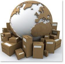 Encomenda Courier serviço