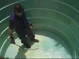 Encomenda Limpeza e desinfecção de reservatórios de água