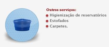 Encomenda Higienizacao reservatorios