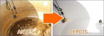 Encomenda Limpeza caixas de agua