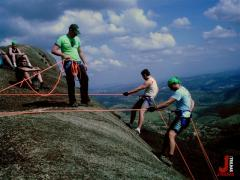 Trekking e Rapel em Atibaia