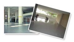 Revestimentos de alto desempenho para pisos