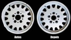 Conserto e desempeno de rodas