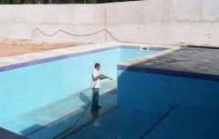 Limpeza e desinfecção em caixas d'água