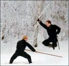 Escola de ninjutsu.