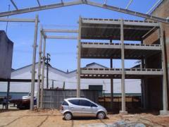 Construção das estruturas