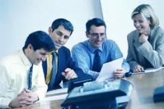 Soluções tecnológicas para problemas empresariais.