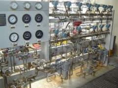 Instalação industrial.