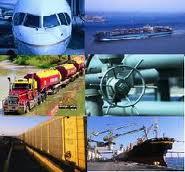 Logística do transporte fluvial