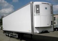 Serviços das agências de transporte e expedição para transporte das cargas facilmente deteriorável