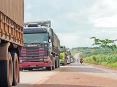 Transporte rodoviário de cargas modulares