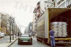 Estacionamento de paragem das transportes de carga