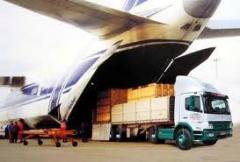 Declaração da mercadoria (importação, exportação, transito)