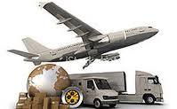 Serviços das agências de transporte e expedição para transporte aéreo