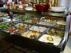 Restaurante de serviço de comida para fora