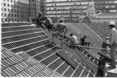 Recuperação do telhado
