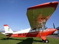 Instrutor de voo de aviao