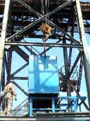 Instalacao e montagem equipamento industrial