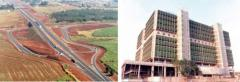 Construção pesada e  civil