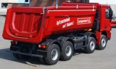 Transporte de  volumes a granel