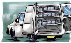 Transporte produtos de alimentacao