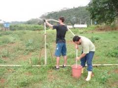 Sistemas de irrigação.
