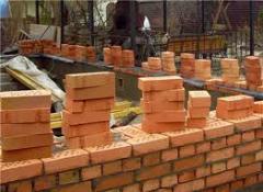 Organização dos trabalhos de construção
