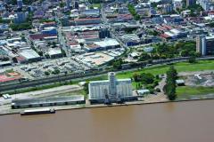 Construção de Silo no Cais de Porto Alegre/RS -