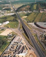 Construçao de Rodovia BR 101 SC