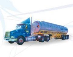 Transporte de cargas liquidos