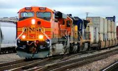 Transporte de carga ferroviária