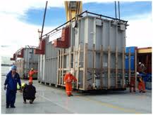 Transporte de Cargas de projetos especiais.
