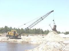 Extracção das matérias-primas naturais
